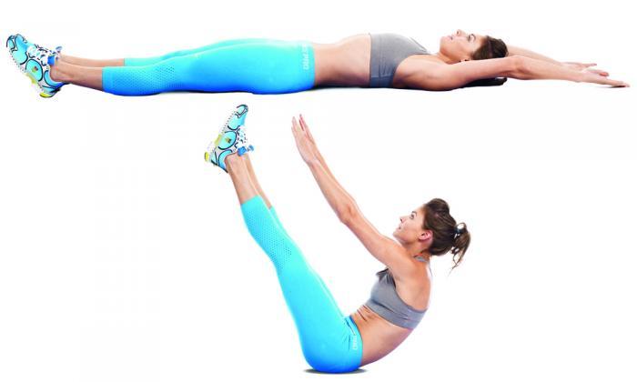 cwiczenia na plaski brzuch2