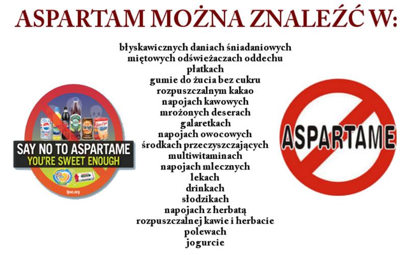 Aspartam-znajdziesz
